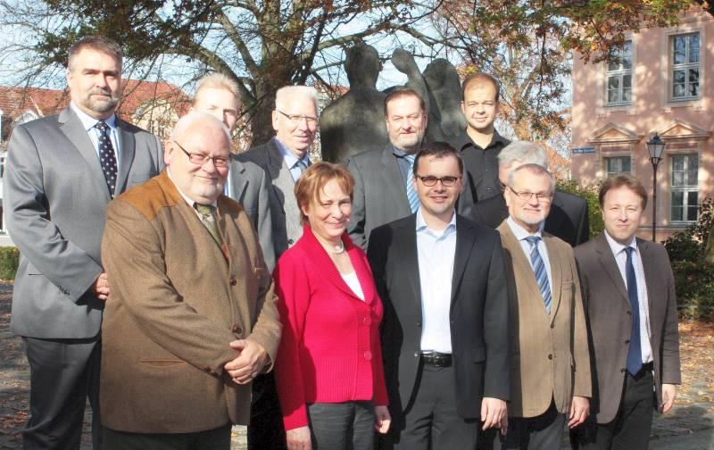 Der neue Kreisvorstand der CDU OPR