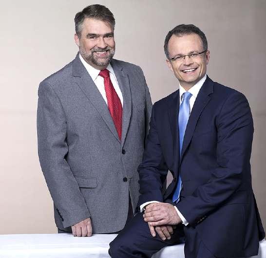 Michael Gayck und Michael Schierack